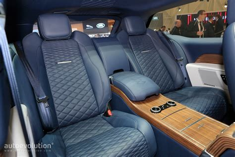 range rover coupe interior range rover sv coupe proves less is more in geneva
