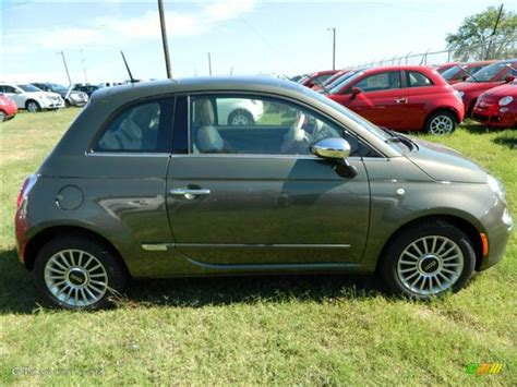 Fiat Green by 2013 Verde Oliva Olive Green Fiat 500 Lounge 72992156