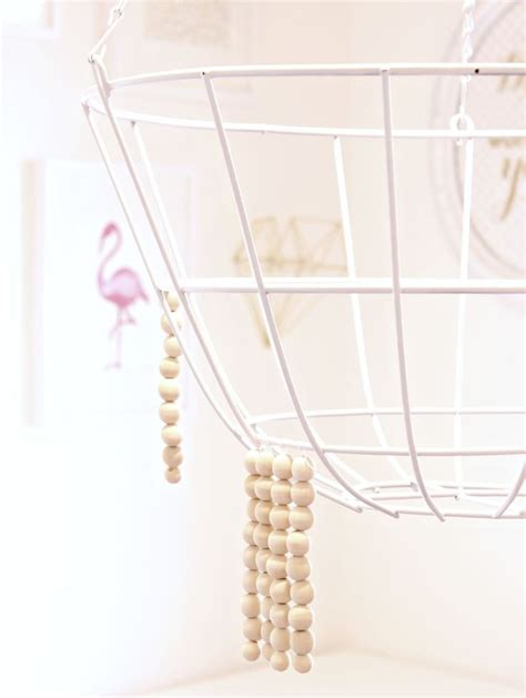 Diy Hanging Chandelier 25 Best Ideas About Bead Chandelier On Pinterest Wood