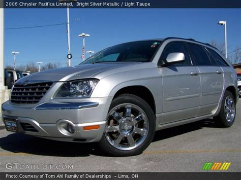 2006 Chrysler Pacifica Limited by Bright Silver Metallic 2006 Chrysler Pacifica Limited