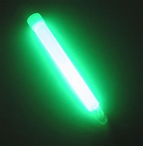 Light Stick - 6 quot ameriglo light stick 12 hour glow w hook green
