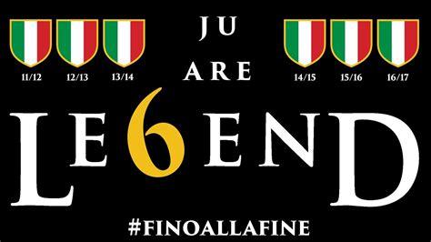 Tshirt Scudetto Juventus Legend Le6end juventus cione d italia 2017 35 ju are le6end