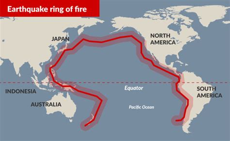 earthquake ring of fire the pacific s ring of fire is on fire beyond infinity