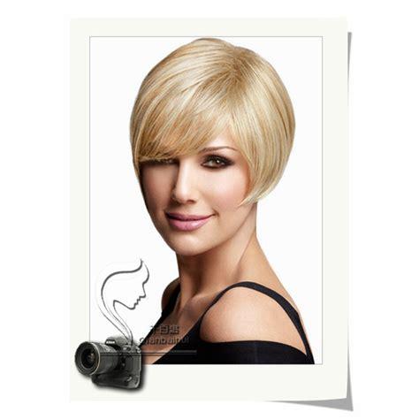 cortes de cabello corto dama dama de moda bob cortes de pelo sint 233 tico oro brown peluca