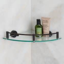 bathroom corner shelves glass bristow tempered glass corner shelf bathroom shelves