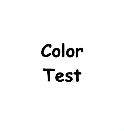 alzheimer s color test