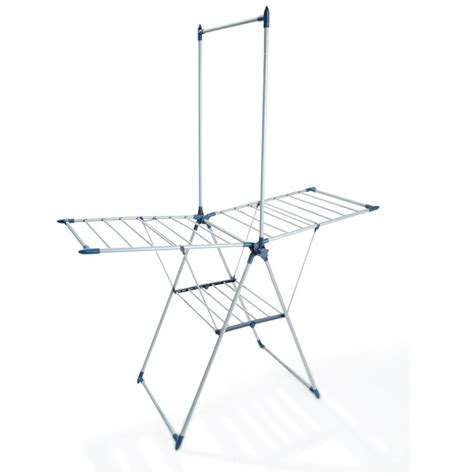 Clothes Rack Kmart by Winged Clothes Airer With Garment Rack Kmart