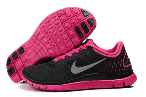 nike womens running shoes pink and black 187 the