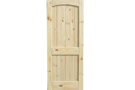 Cheap Pine Doors Interior Knotty Pine Door Building Materials Supplies