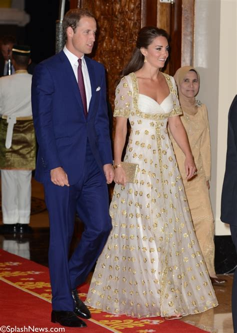 kate and william kate wows in custom alexander mcqueen gown at malaysian