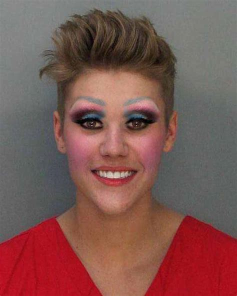 justin bieber cried after getting arrested for drag racing look what rupaul did to justin bieber s mug shot