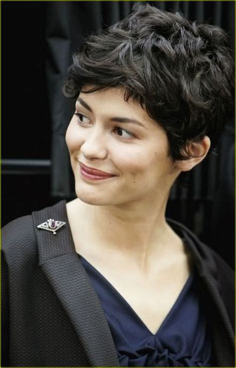 how to style your hair like audrey tautou short pixie audrey tautou short wavy hair cut embrace your beauty