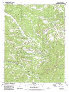 topical map of colorado bailey topographic map co usgs topo 39105d4
