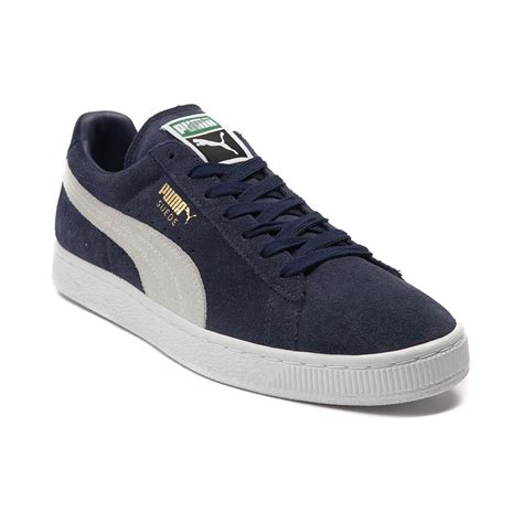 pumas shoes for mens suede athletic shoe