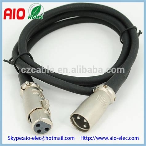 Mic Kabel 6 xlr kanon canon microfoon mic 6 35mm 1 4 inch phone mannelijk aansluiting vrouw audio