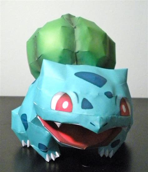 Bulbasaur Papercraft - papercraft bulbasaur template wallpaper