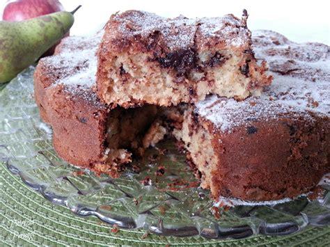 la torta di pere e cioccolato testo torta mele pere cioccolato6 firma a tavola con lia