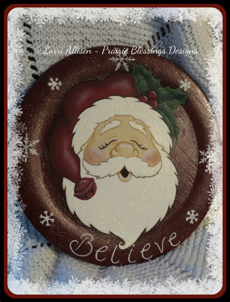 watercolor pattern packets santa painting pattern packet instant download