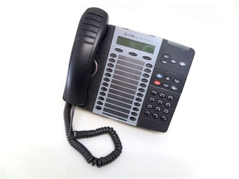 Mitel 5324 Ip Corded Office Desk Phone Black Ebay Office Desk Phone
