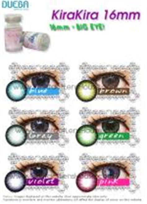 kirakira contact lens come in diameter 16mm that