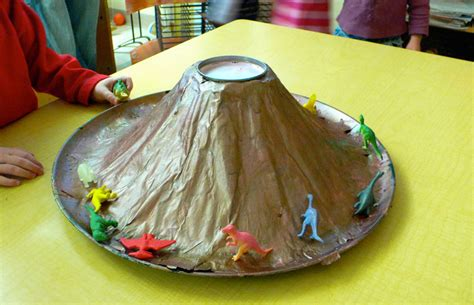 How To Make Volcano Paper Mache - nation s report card shows when lose interest in