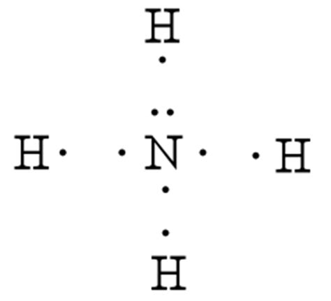 lewis dot diagram for nh3 lewis structure