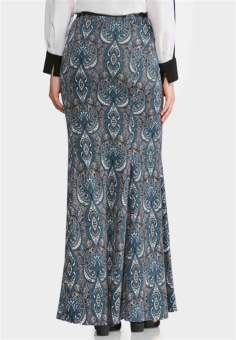 moroccan mermaid maxi skirt plus maxi cato fashions