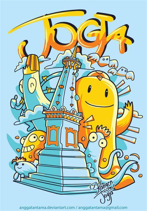 sketch book gambar jogja by anggatantama on deviantart