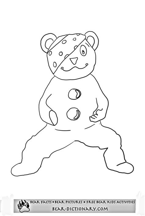 pudsey template printables children in need pudsey coloring page toby s children