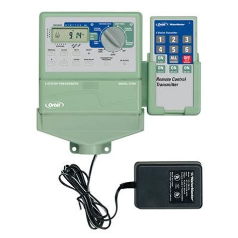 orbit watermaster 6 timer w remote home depot