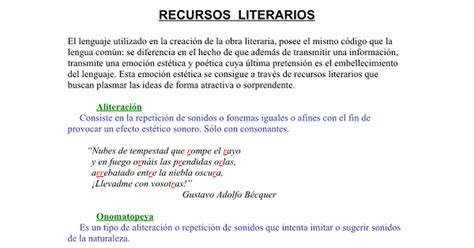 imagenes sensoriales y recursos literarios autorretrato definicion