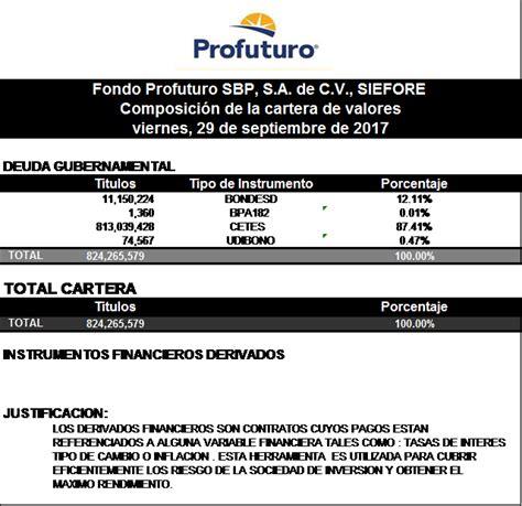 pensiones directas manual de procedimientos de pensiones siefore rendimientos riesgos y comisiones profuturo