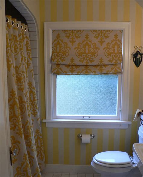 small roman blinds for bathroom 20 designs for bathroom window treatment house