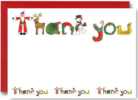 thank you for my present card template thank you note for gift kiddo shelter