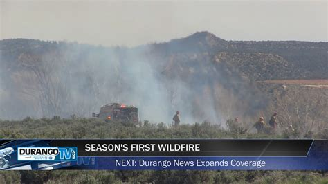 Durango TV News : La Posta Road Fire   Durango Downtown
