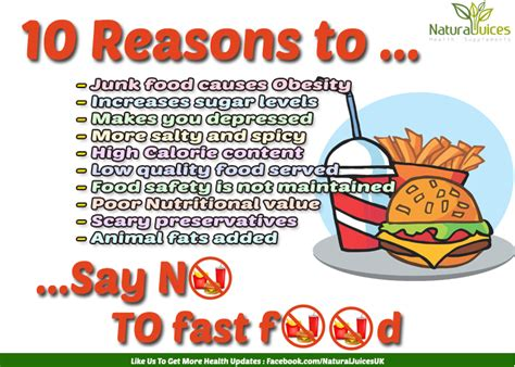 Reasons To Avoid Fast Food by Why Fast Food Is Bad For Your Health 10 Reasons