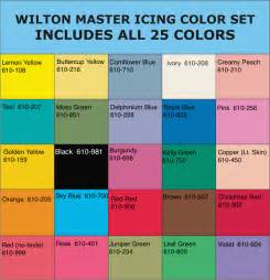 wilton food coloring chart wilton 174 icing colors chart let them eat cake