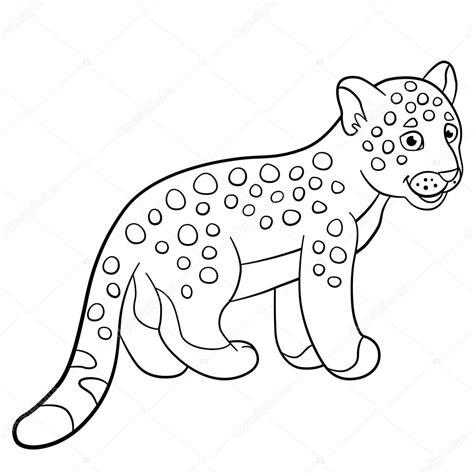 imagenes de jaguar para descargar dibujos para colorear sonrisas de jaguar de lindo beb 233