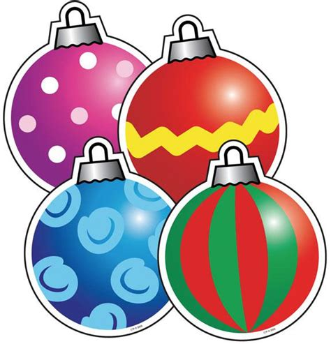 christmas decorations cutouts free ornaments cut outs ctp4686