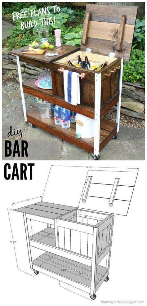 diy grill cart  bar cart jaime costiglio