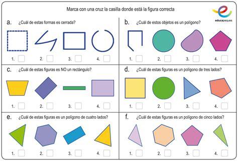 figuras geometricas y su descripcion figuras geom 233 tricas en primaria