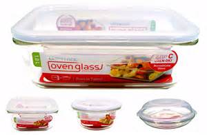 baking container storage lock lock oven glass roasting baking dish storage