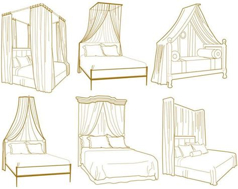 types of canopy beds canopy styles inspiration home decor pinterest