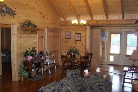 log homes interior pictures interior log home cabin pictures battle creek log homes