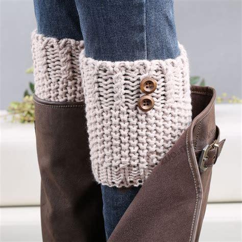boot warmers aliexpress buy 7 colors button leg