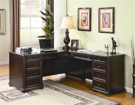 furniture luxury and modern home office desk ideas in