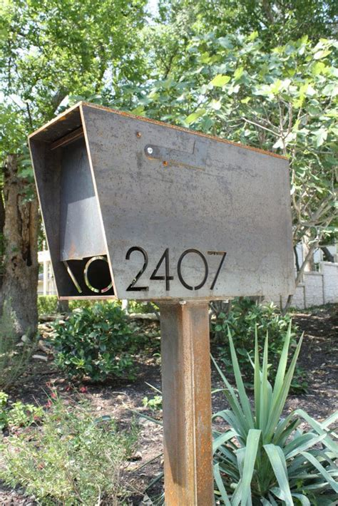 Handmade Mailbox - best 25 modern mailbox ideas on
