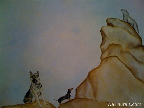 wolf wall mural nature wall murals by colette nature wall murals penguin wolf murals