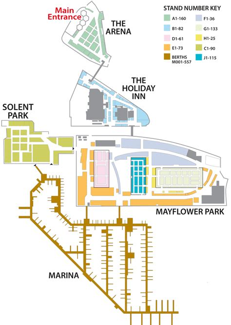 boat show 2017 map psp southton boat show map motor boat yachting