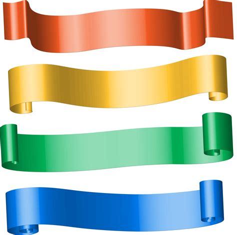 colour ribbon banners  stock photo public domain pictures